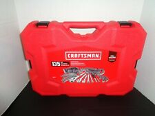 Craftsman 135-Piece Standard SAE and Metric Tool Set New