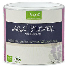 Dr. Groß Acai Pulver Bio Vegan 100g