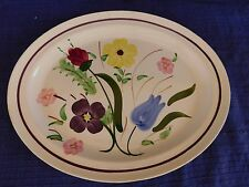 "Blue Ridge Southern Beauty Secret 13"" OVAL PLATTER have more items to set"