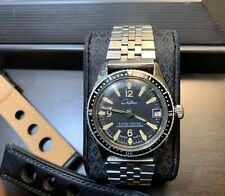 1960's Vintage Diver Watch Chateaux Nice Patina Markers