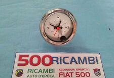 FIAT 500 F/L/R OROLOGIO ANALOGICO CROMATO STRUMENTO DI BORDO CRUSCOTTO DA 52