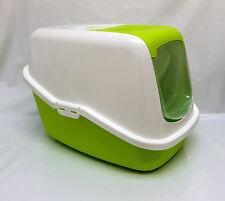 Cat Kitten Hooded litter tray toilet box,door Smart Cat enclosed cat loo Savic