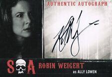 Sons of Anarchy Seasons 6&7, Robin Weigert 'Ally Lowen' Auto Card RW