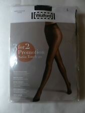 NEU 3 Stück Wolford Satin Touch 20 Strumpfhose Tights Gr L Cosmetic Nude