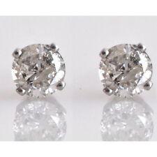Natürlicher echter Ohrschmuck im Ohrstecker-Stil mit Diamant