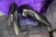 Noir Cuir Veau DanSport MST Salle de Bal/Danse Latine Chaussures-Taille UK 11
