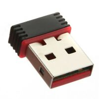 New 802.11n WiFi Mini USB 2.0 Dongle Wireless LAN Adapter for Raspberry Pi PC HK