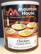 Mountain House Freeze Dried Chicken Cooked, Diced #10 Can Emergency Food