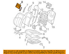 MERCEDES OEM 03-09 E320 Front Seat-Adapter 2119100775