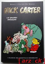 I CLASSICI DI REPUBBLICA Serie Oro n 17 NICK CARTER - Le grandi indagini BONVI