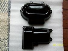 Harley transmission cover-6 speed-top-side-gloss black-2014-15-16- twin cam