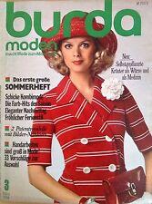 Burda Moden 03/74 März 1974 MIEDER Häkeln JEANS UMSTANDSMODE 70er J Tennispullis