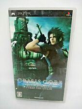 Sony PSP Playstation Portable Crisis Core Final Fantasy VII SQUARE ENIX Jap Ver