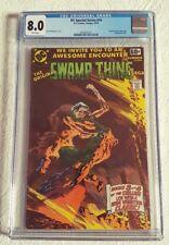 CGC 8.0 VF-WHITE PAGES 1978 DC Special Series #14 - Original Swamp Thing Saga