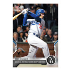 2021 TOPPS NOW #970 CODY BELLINGER LOS ANGELES DODGERS GO AHEAD RBI-SINGLE