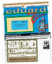 EDUARD 1/72 SS-171 - PHOTOETCHED FOTOINCISIONI Ki-61 HIEN/TONY