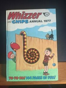 Whizzer and Chips Annual Comic 1977