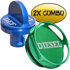 COMBO PACK Magnetic Diesel Fuel Cap + DEF Cap Dodge 2013-now RAM TRUCK CUMMINS