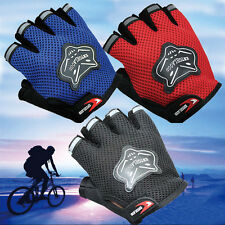 New Sports Racing Cycling Bike Bicycle Gel Half Finger Breathable Sport Gloves