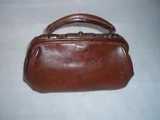 Leather Unbranded 1930s Vintage Bags, Handbags & Cases