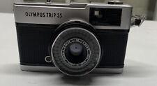 Working Olympus Trip 35 w/ D.Zuiko 40mm Lens.
