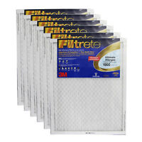 3M Filtrete 24x30x1 Ultimate Allergen Reduction Air Filter (6 Pack)