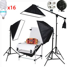Video Studio Lighting Kit 16*150W 100X200CM Shooting Table Set Studio Photo cont