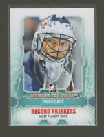 (71623) PATRICK ROY 2012-13 Between The Pipes #181 RB & #137 DEC Lot of (2)