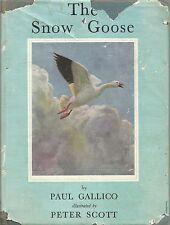 The Snow Goose - Paul Gallico - Illus Peter Scott. hardback, dust wrapper 1950