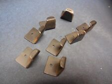 1980's Pac-Man Midway Bally Arcade Game Table Top Glass Brackets / Used Set of 8