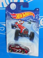 Hot Wheels 2014 Wal-Mart Holiday Hot Rods Series 5/8 Honda Civic Dark Red