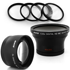 Albinar 58mm 0.43x Wide fisheye,2x Tele Lens, Filter for Canon EOS Rebel T2i T4i