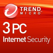 Trend Micro Internet Security 2020 3 PC 1 Year  UK