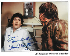 David Naughton in 1981 An American Werewolf in London 8 x 10 Autograph Picture 2