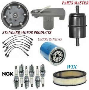 Tune Up Kit Filters Cap Plug Wire For DODGE D200 PICKUP L6 3.7L;Exc cartridge 71