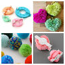 Pom Pom maker round & heart shapes. 4 size round pack or small & large heart.