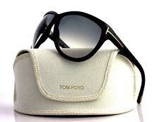 RARE New Authentic TOM FORD Olympia Black Grey Sunglasses TF 128 FT 0128 01B