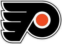 Philadelphia Flyers NHL Color Die Cut Vinyl Decal Sticker Choose Size cornhole