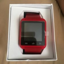 New -Bluetooth Smart Watch With A Watch Stand Added (Red Smart Watch)