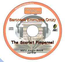 The Scarlet Pimpernel - Baroness Emmuska Orczy  MP3 Audio Book CD in 31 episodes