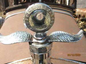 OLD VINTAGE RAT ROD FORD MODEL T RADIATOR CAP HOOD ORNAMENT RAD CAP WINGS MASCOT