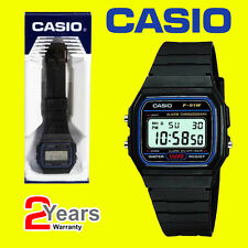 Casio F-91W-1YER Men's Resin Digital Watch With alarm for men and boys-Day&Date