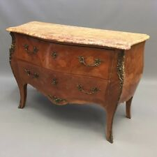French marquetry commode chest of drawers  Ref a14777