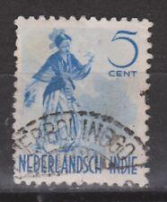 Nederlands Indie 302 TOP CANCEL POERBOLINGO Netherlands Indies 1941 dansers