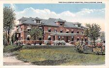 Ohio postcard Chillicothe, The Chillicothe Hospital