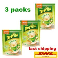 3 X Nestle Nesvita Original Cereal Drink High Fiber Calcium Natural Healthy