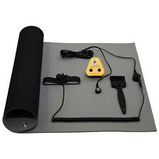 Anti Static ESD NoShock Grounding Bench Mat Kit UK Plug 600x500mm Grey
