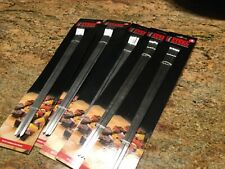 """20 BBQ Stainless Flat Skewers 14"""""""