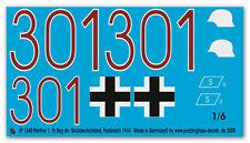 Peddinghaus 1/6 1580 Panther 1 Pz Numero Registrazione Div Grossdeutschland,