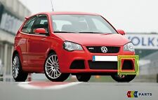 NEW GENUINE VW POLO GTI CUP 05-10 FRONT BUMPER LOWER LEFT N/S GRILL TRIM BLACK